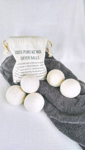 Wool Dryer Balls - 100% NZ Wool