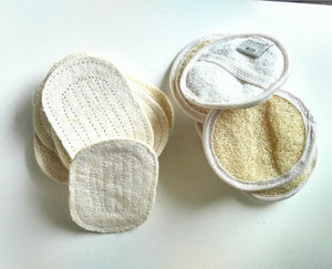 Organic Egyptian Loofah Face & Body Pad 10 cm