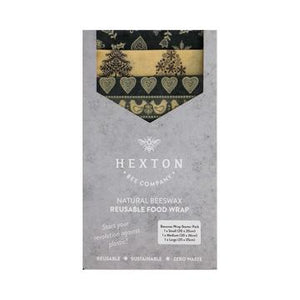Beeswax Food Wraps - Starter pack  Hexton Bee Company