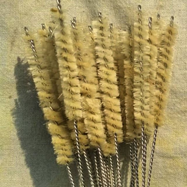 Straw Cleaner Brush - Vegan Plant based bristle cactus