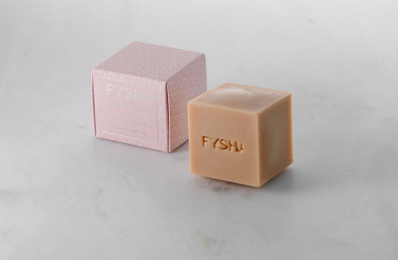 Fysha Lavender & French Pink Clay Face & Body Soap