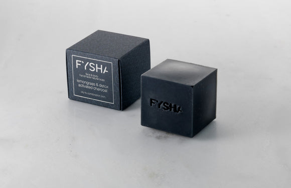 Fysha Lemongrass & Detox Face & Body Soap
