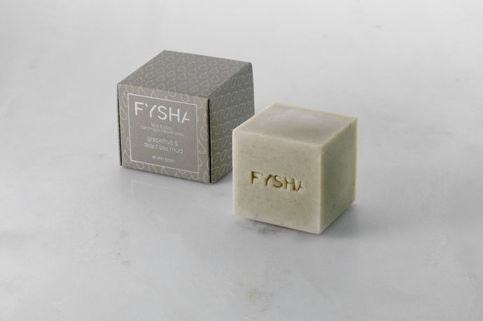 Fysha Grapefruit & Deadsea Mud Face & Body Soap