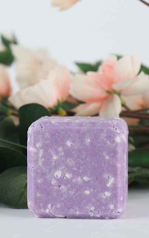Purple Shampoo Bar - blonde hair