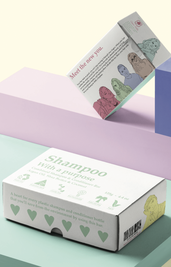 Shampoo with a purpose Shampoo & Conditioner Bar - Out of Date