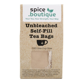 Tea bag -Spice Boutique self fill