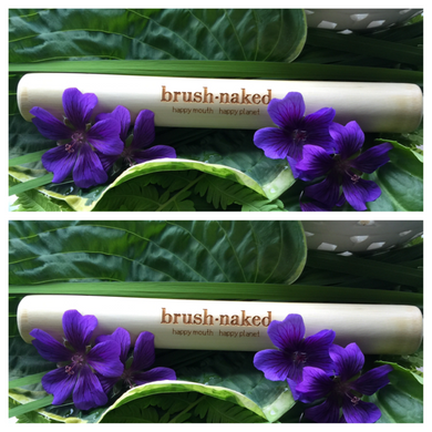 Bamboo Toothbrush Travel Tube