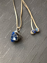 Load image into Gallery viewer, (B) FEATURED & READY TO SHIP  Lapis Lazuli Necklace with Charm