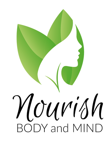 Image of Nourish Body and Mind Emblem T-Shirt Womens