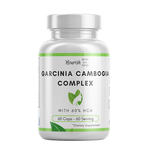 Image of Garcinia Cambogia Complex 500mg Gel Caps