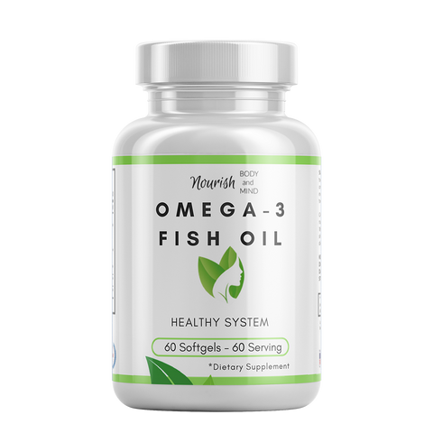 Image of Omega-3 Fish Oil Blend