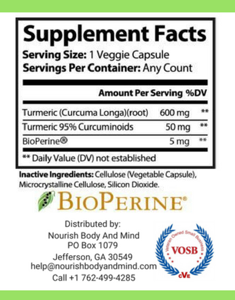 Image of Turmeric with BioPerine
