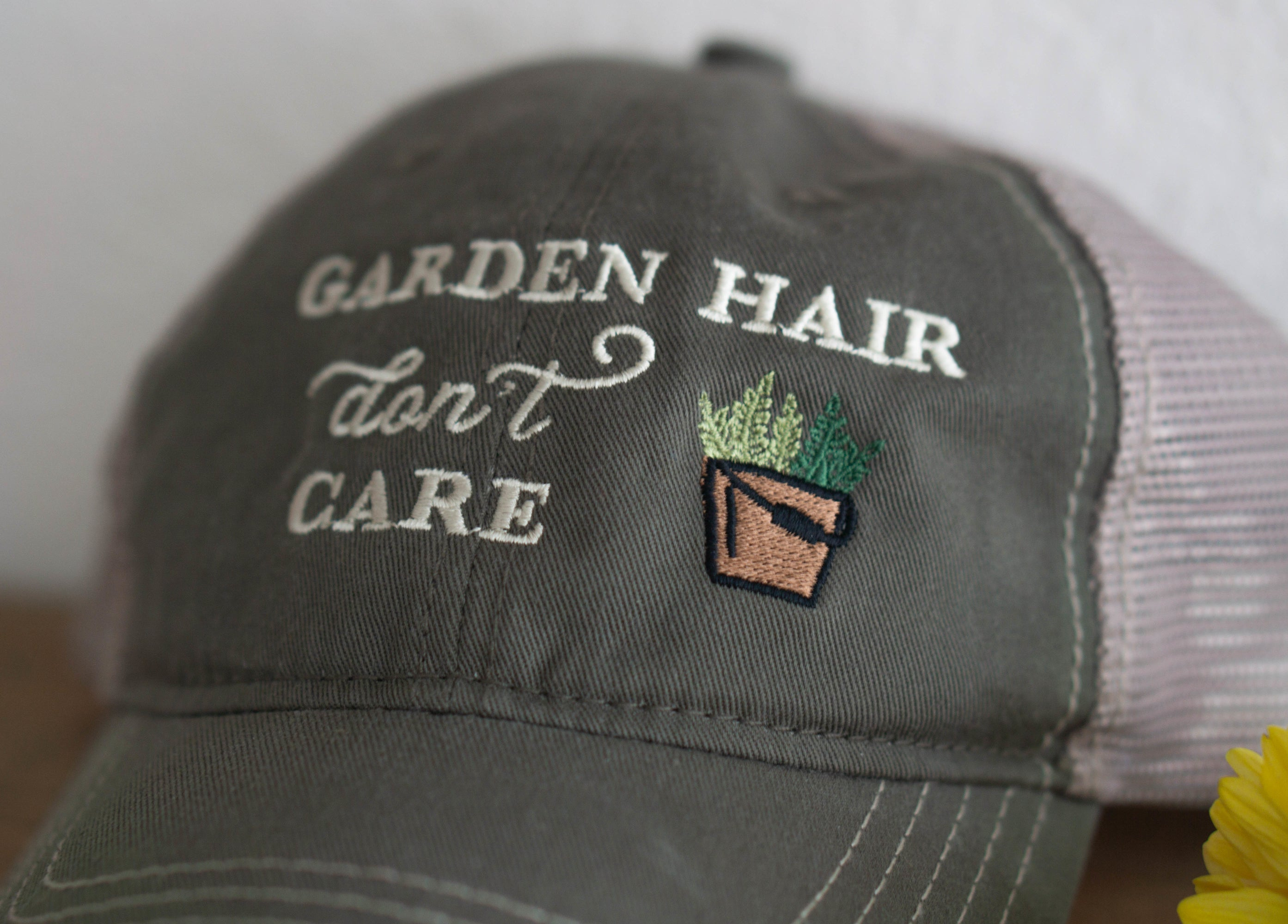 Garden Hair Don't Care Hat