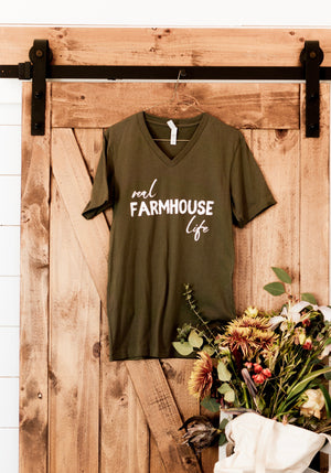 Real Farmhouse Life tee