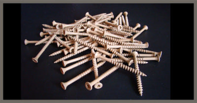 Case Hard Decking Screws 2-1/2