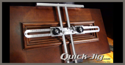 Quick-Jig - (Knob & Handle Jig)