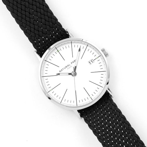 NATURAL PARK Watches Women Fashion Watch 2018 New Elegant Dress Nylon Strap Ultra Slim Wrist Watch Montre Femme Reloj Mujer