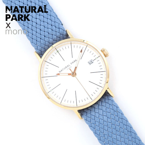 NATURAL PARK Women Watches Luxury Brand Nylon Fashion Ladies Geneva Quartz Wrist Watch For Women Clock Relogio Feminino 2018