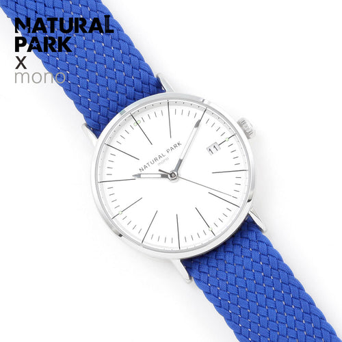 NATURAL PARK Womens Watches Luxury Brand Nylon Band Fashion Ladies Dress Quartz Wristwatches Waterproof Gift Box Calendar Clock