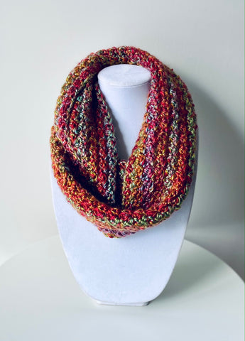 Watermelon Punch Suzette Cowl