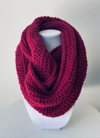 The Raspberry Ever Changing Cowl