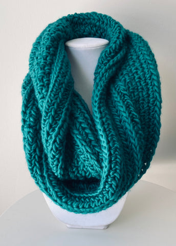 The Teal Ever Changing Cowl