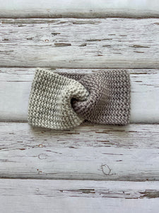 Knit Twist Headband