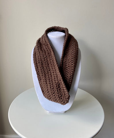Teddy Bear Brown Cluster Cowl