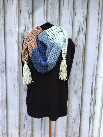 Blueberry Scone Desert Wind Scarf