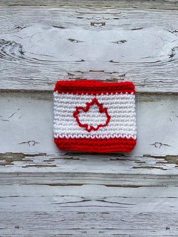 Canadian Flag  Cup Cozy