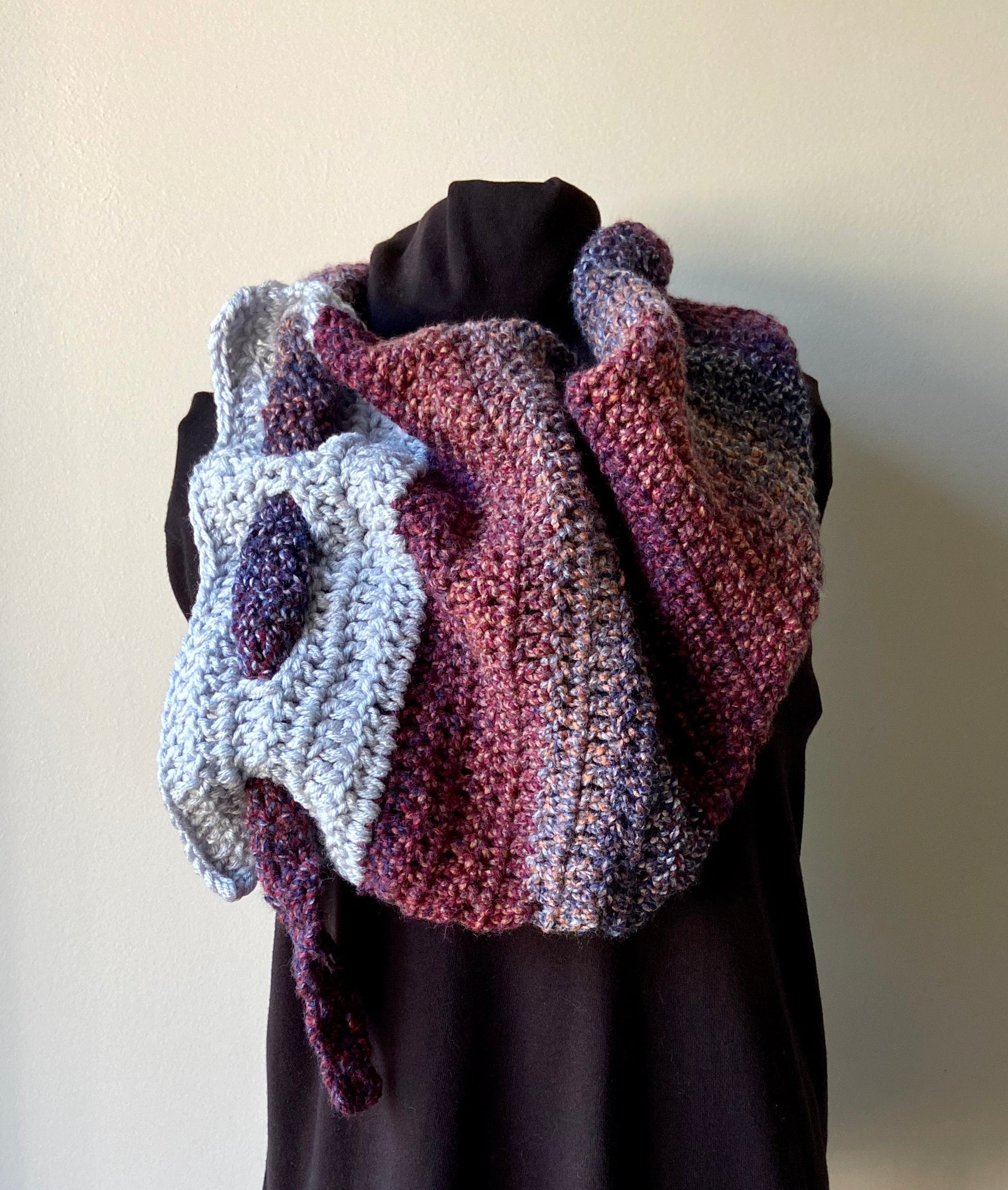 Orange Sodalite Riding Scarf