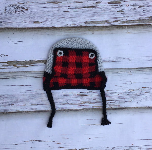 Plaid Trapper Hats
