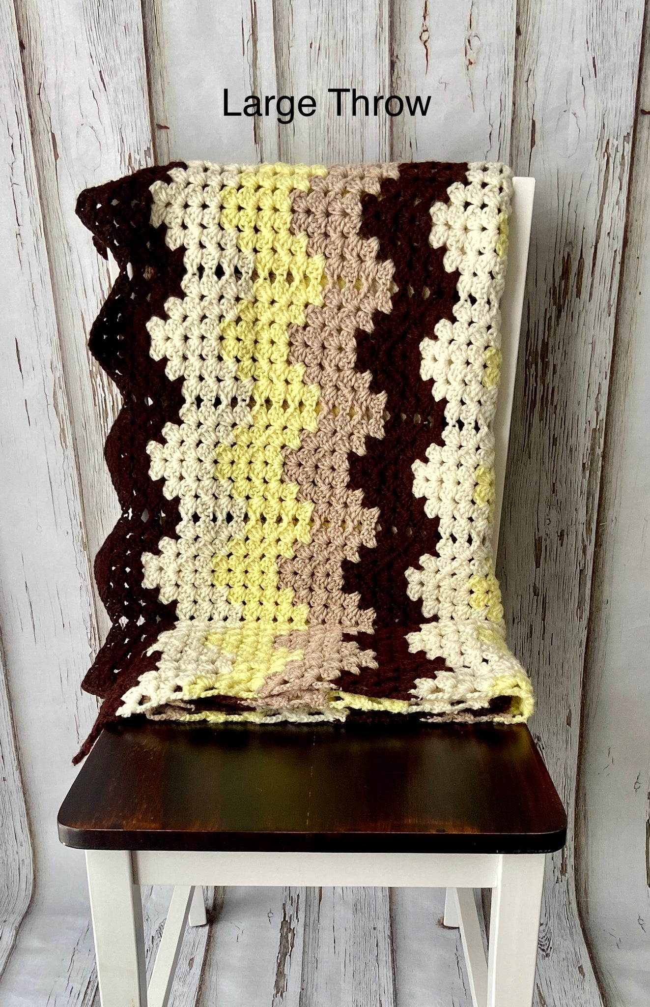 Retro Granny Ripple Blanket