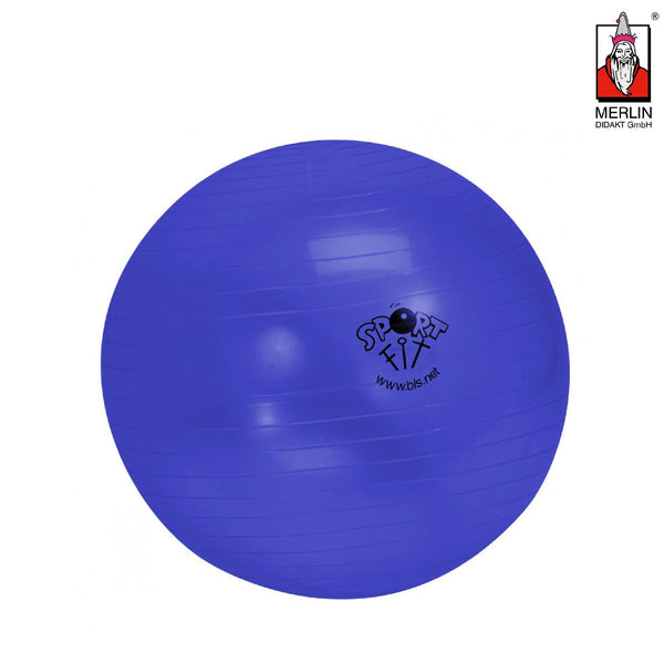 Blue Gym Ball - 65 cm Sportmaterial MERLIN Didakt
