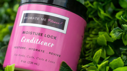 Hydrate Me Please! Moisture Lock Conditioner