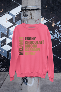 Shades of Melanin Oversize Sweatshirt