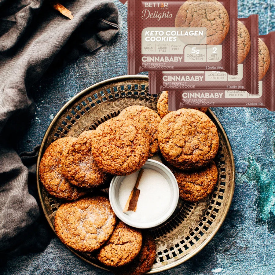 Cinnamon Keto Cookies - Cinnababy - Keto Diet Done Better