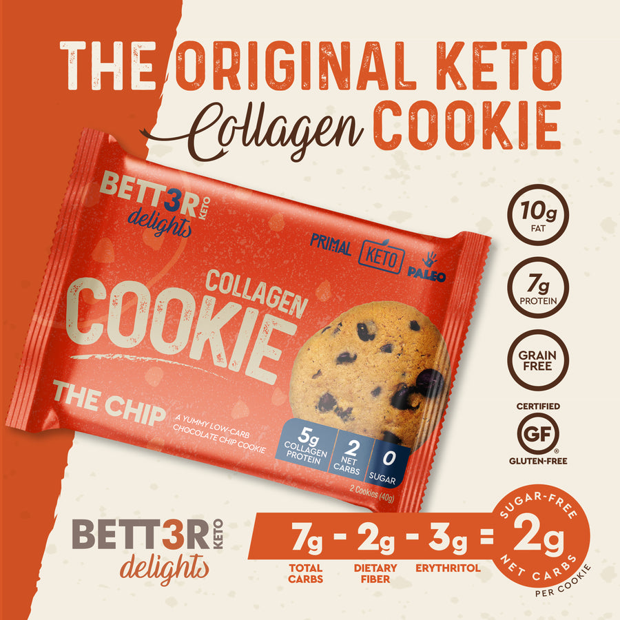 Chocolate Chip Keto Cookies - The Chip