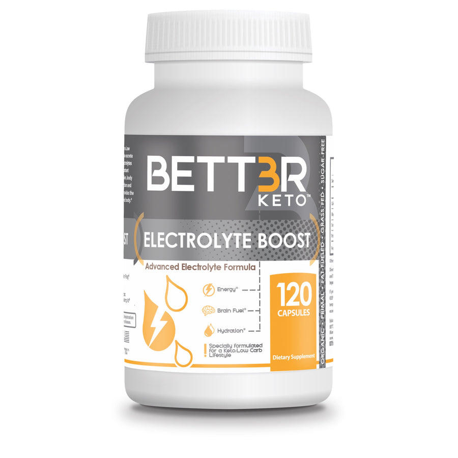 Keto Electrolyte Boost Supplement | Sugar Free Electrolyte Capsules - Keto Diet Done Better