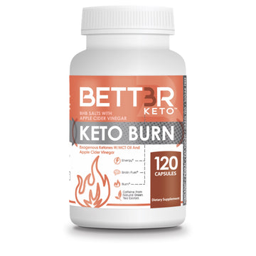 Keto Burn BHB Salts with MCT Oil and ACV - Keto Diet Done Better