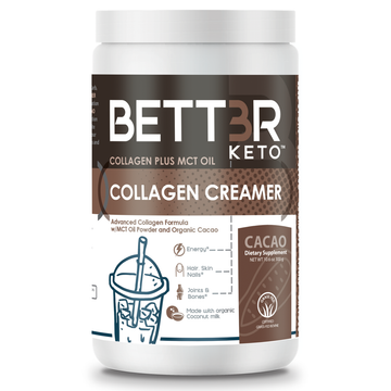Cacao Keto Collagen Creamer with MCT Oil - Keto Diet Done Better
