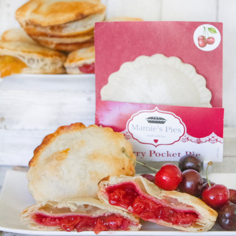 Cherry Pocket Pies | 12 Pack