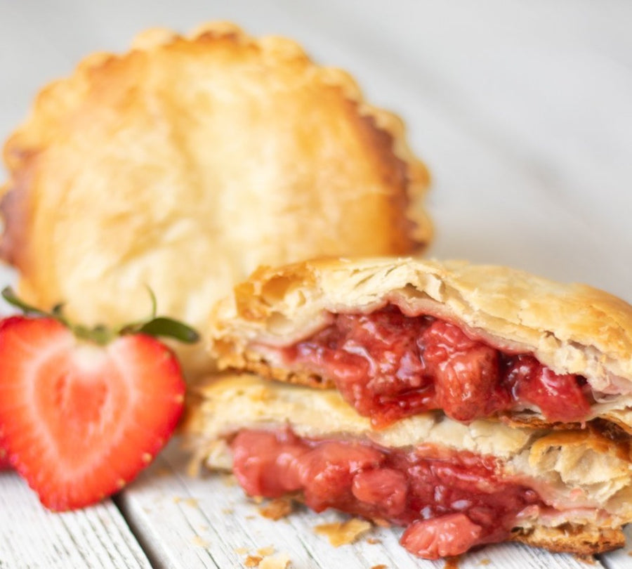 Strawberry Pocket Pies | 12 Pack