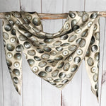 Fringe Scarves - The Baby Concho - Bone