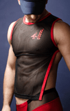 Biker Top - men's crop top - 4 Hunks