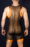 Dirty Wrestler Orange - 4 Hunks