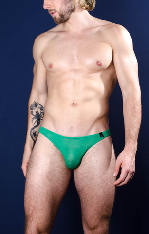 Bulge King Brief Vivid Green