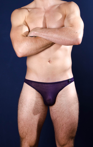 Bulge King Brief Massive Purple - 4 Hunks