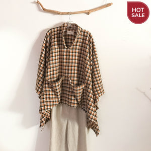 wool poncho ready wear