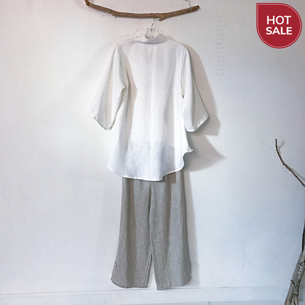 handmade linen outfit - linen clothing by anny